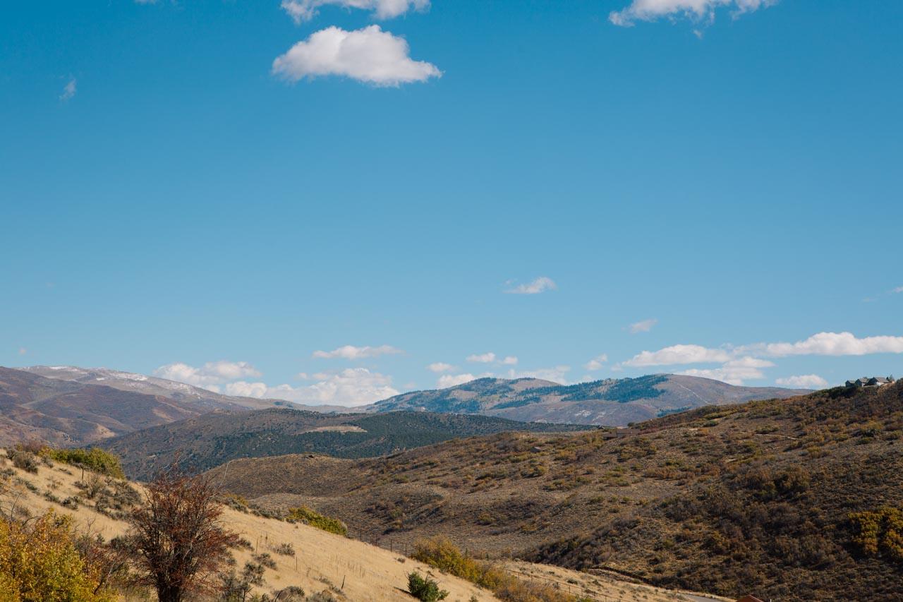 Mountain views at Blue Sky Utah.