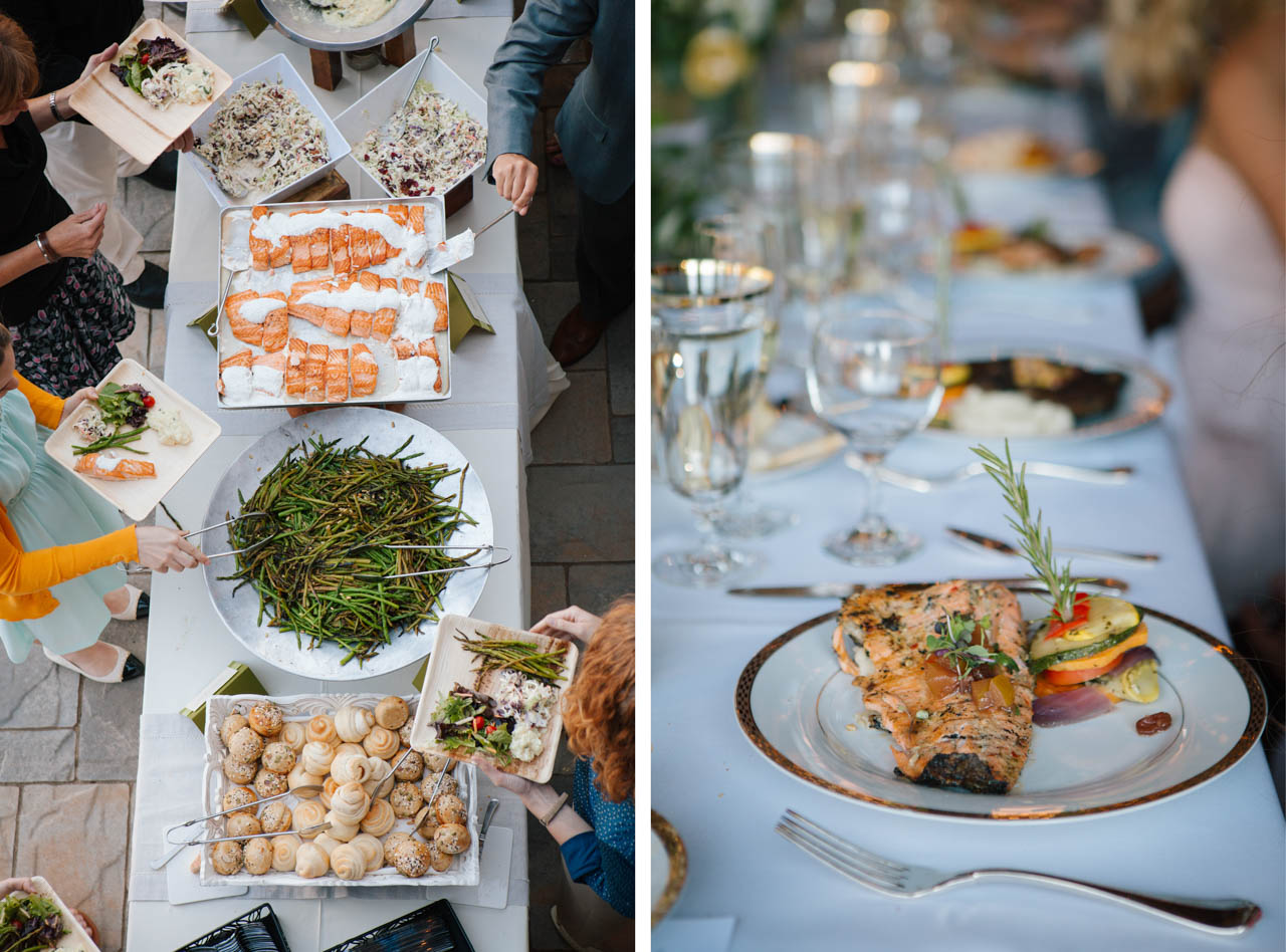 Utah wedding catering by Culinary Crafts.