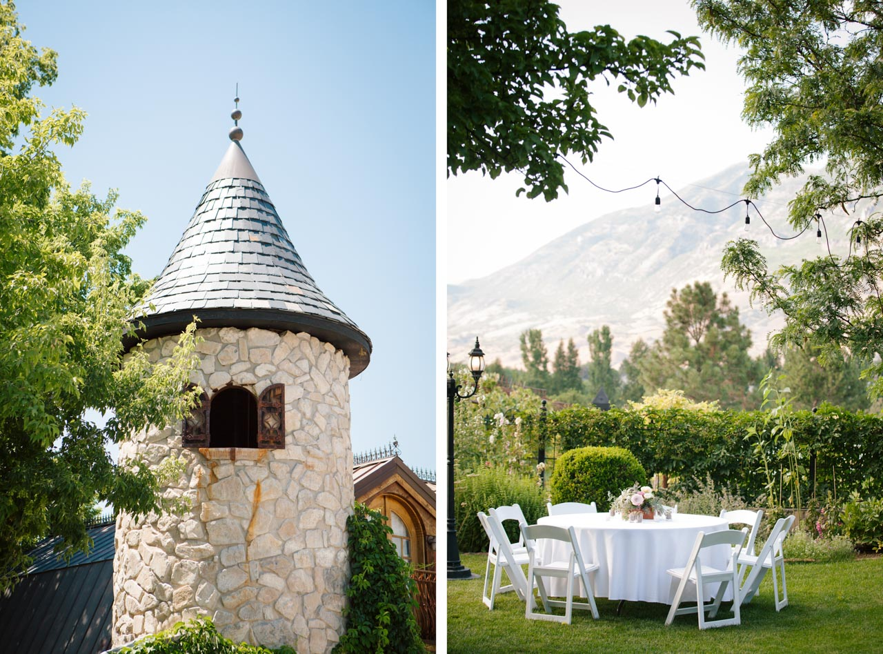 Fairytale garden wedding at Wadley Farms.