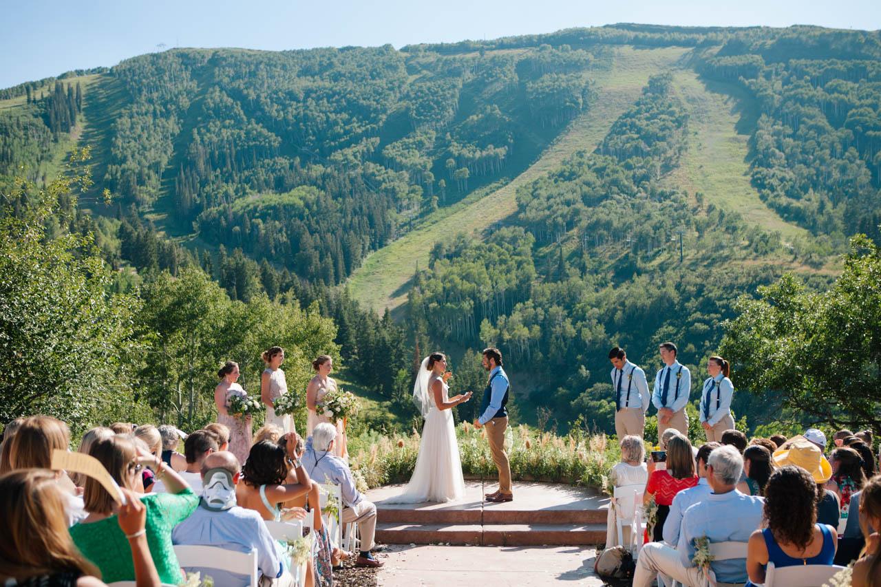 Alpine Meadows ceremony.