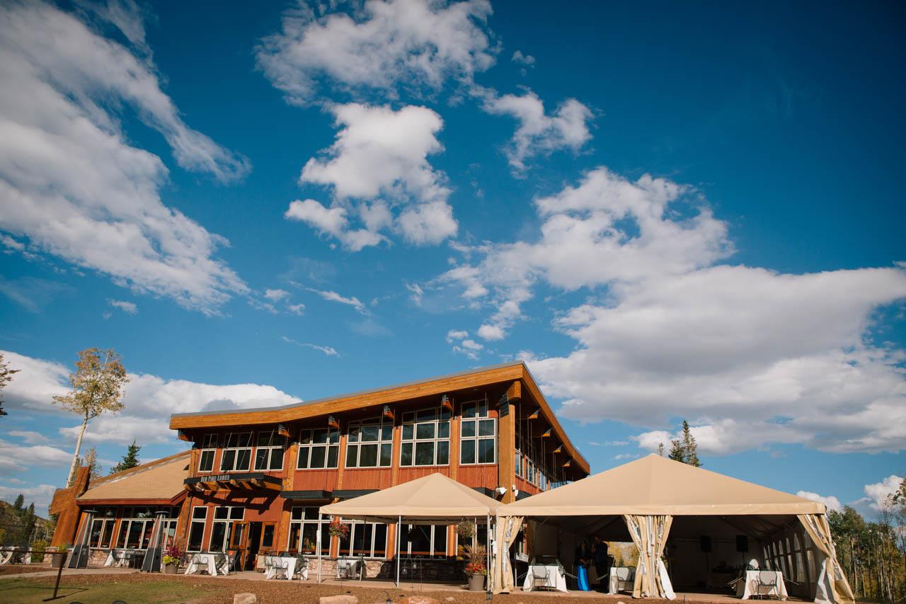 Red Pine Lodge wedding venue Park City.