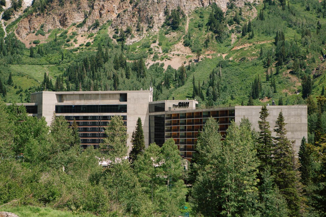 Cliff Lodge at Snowbird.