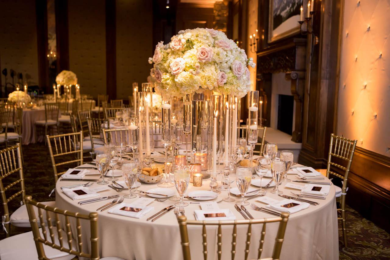 Stein Eriksen ballroom wedding reception.