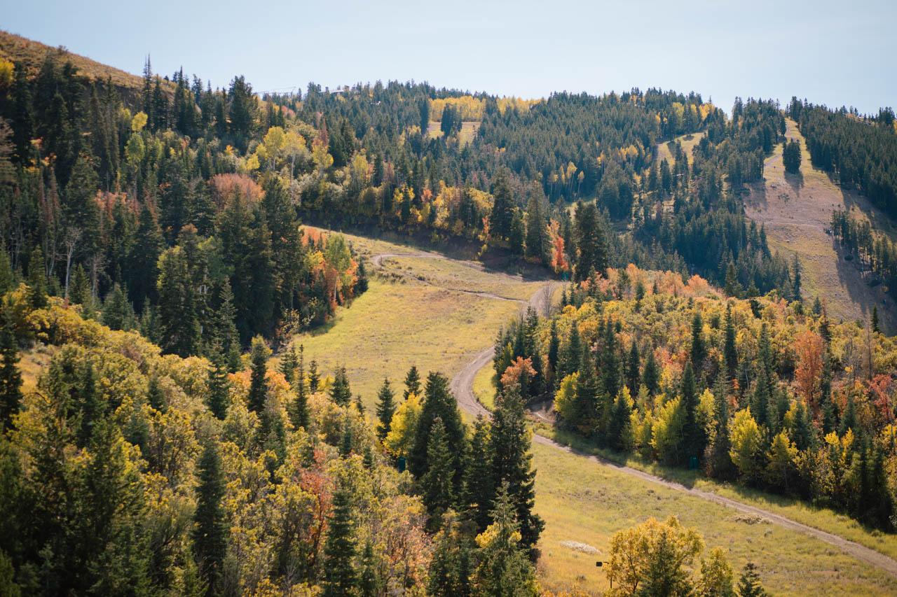 Deer Valley views from the St. Regis.